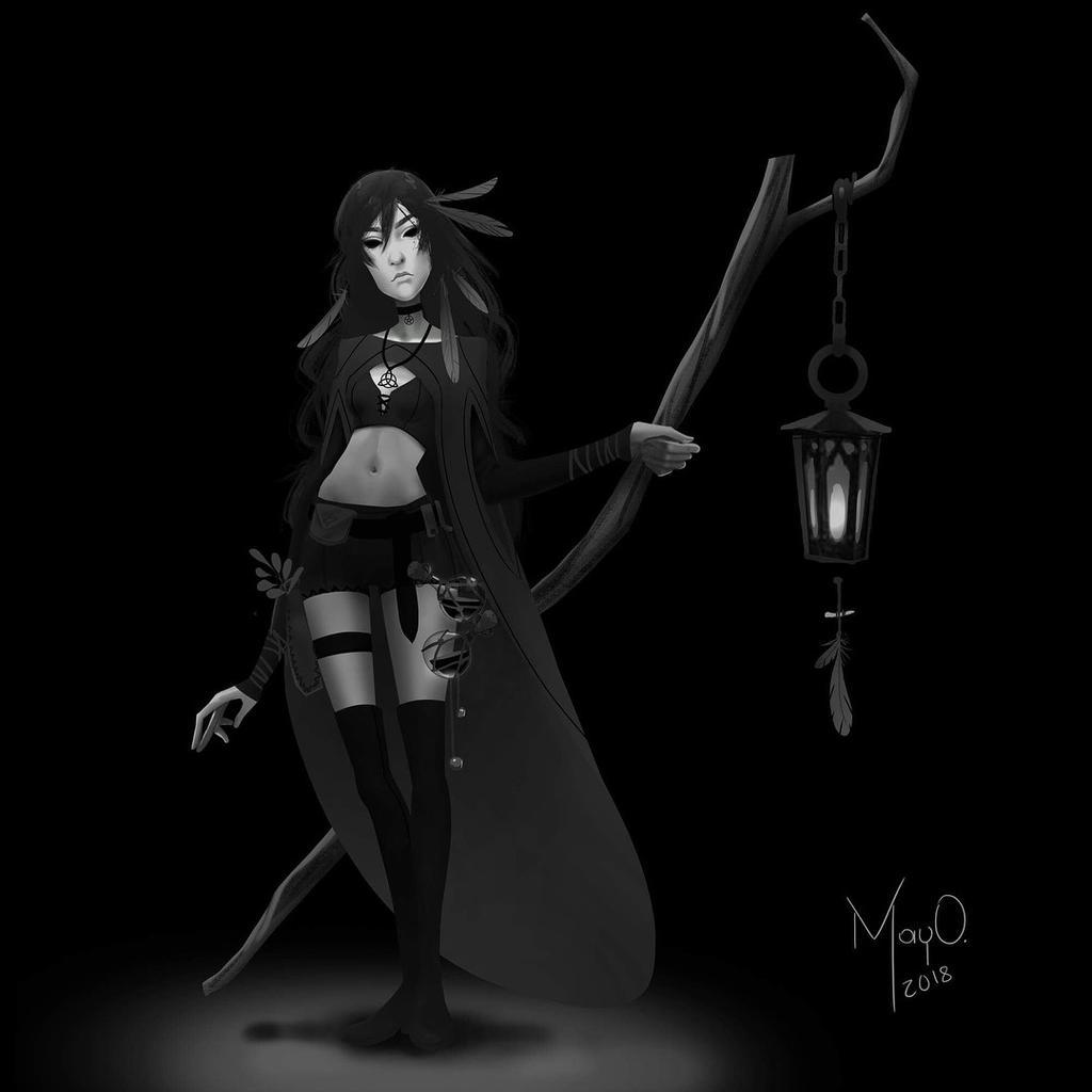 Witchsona by MayOrnelas