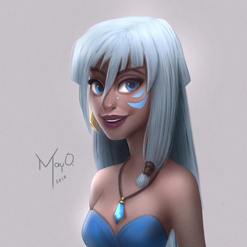 Kida by MayOrnelas