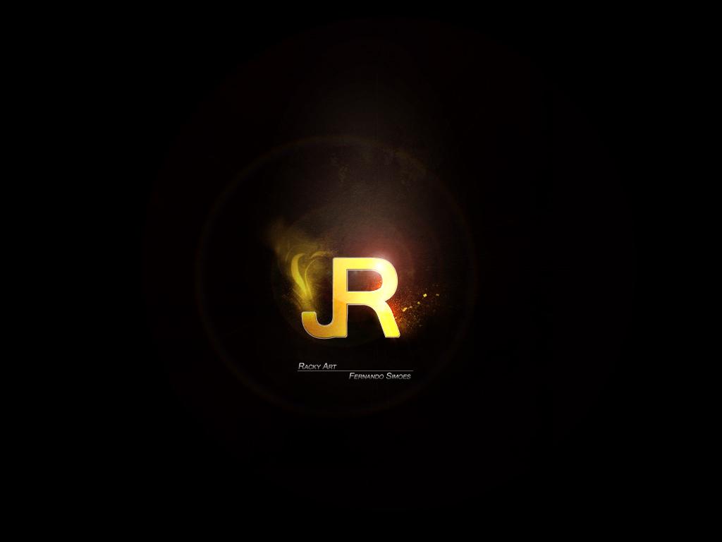 JR Logo Wallpaper ~R a c k y  Art JR_Logo_Wallpaper_by_RaCkyDA