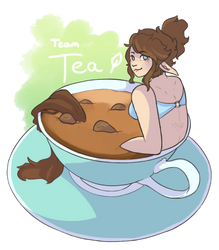 Time For Tea - Art Fight 2018 ID! by Tiny-Centaur