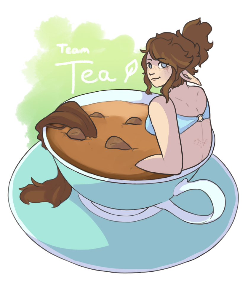 Time For Tea - Art Fight 2018 ID!