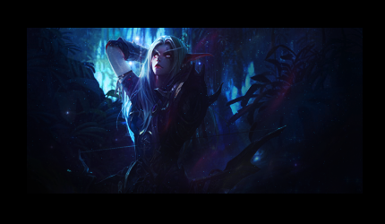 World Of Warcraft Elf by JoshPattenDesigns