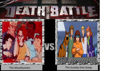 Death Battle: Ghostbusters vs. The Scooby-Doo Gang by JusSonic