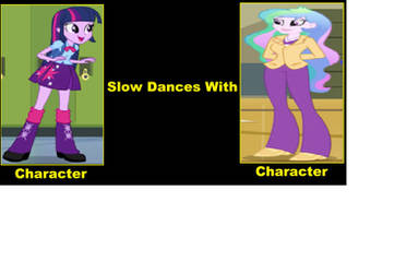 Twilight Sparkle Slow Dances with Celestia by JusSonic