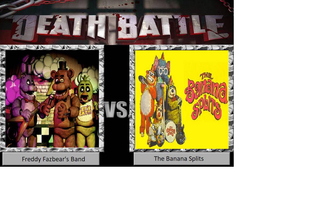 DB: Freddy Fazbear's Band vs. The Banana Splits by JusSonic