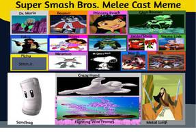 JusSonic's Smash Bros Melee cast list