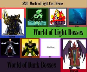 JusSonic's World of Light cast list
