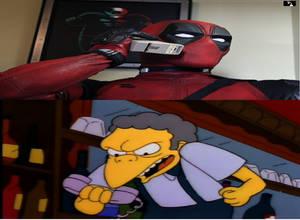Deadpool prank call Moe
