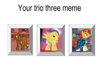 JusSonic's MLP Trio Three