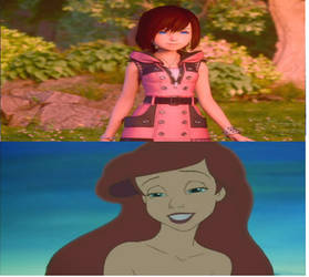 Ariel Loves KH3 Kairi
