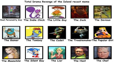 Total Cartoon: Revenge of the Island cast