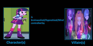 Twilight Sparkle was brainwashed by the Dazzlings