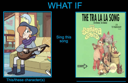 What if Ruberiot sings the Tra La La song?