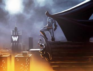 Batman by jameszapata