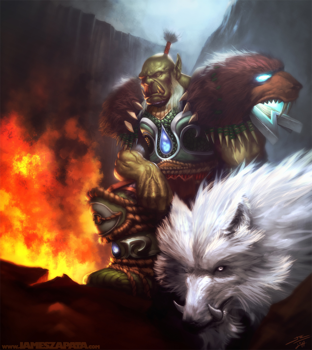 WoW - Orc Hunter by jameszapata on DeviantArt