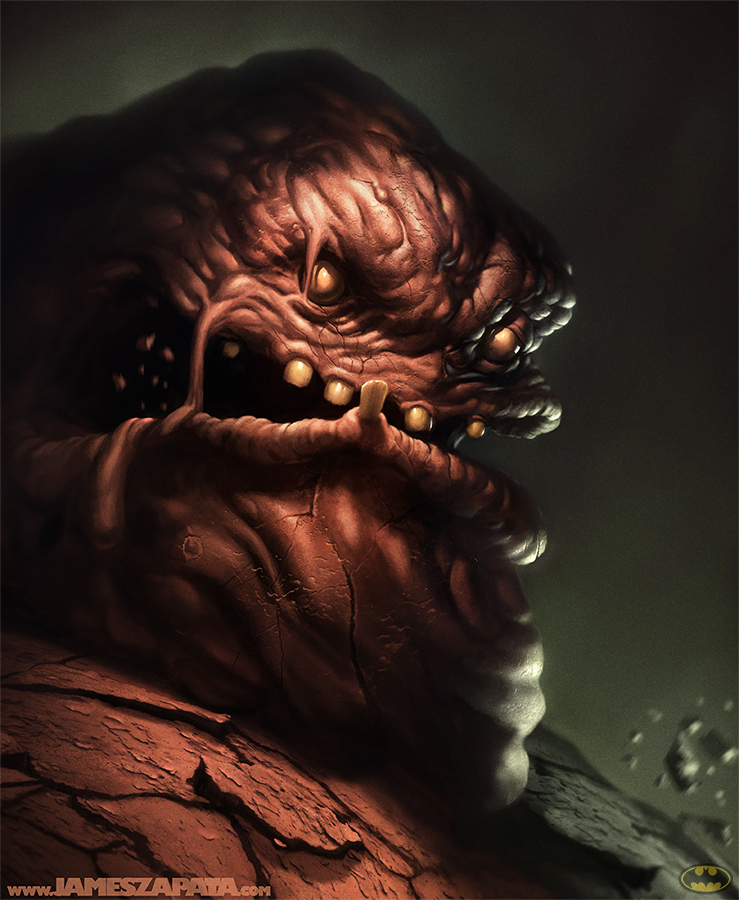 Clayface by jameszapata