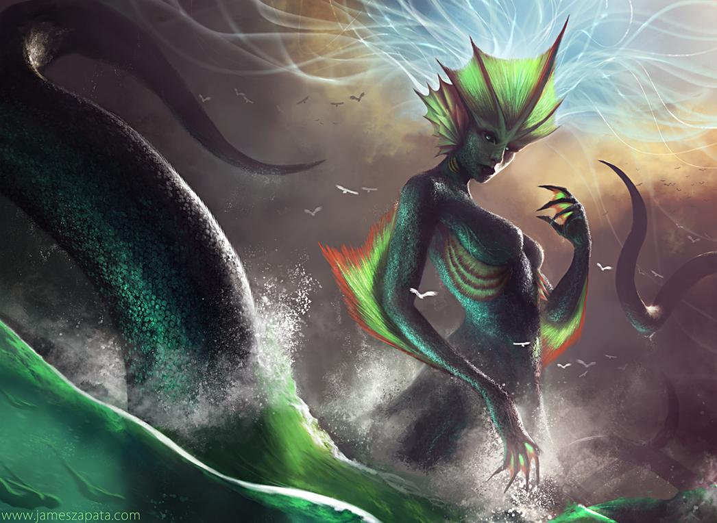 Sea Goddess by jameszapata