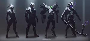 scifi concept sketches