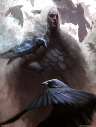 Crow Man by jameszapata