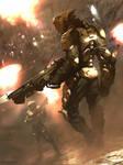 Galaxy Saga - Hunter (regular)