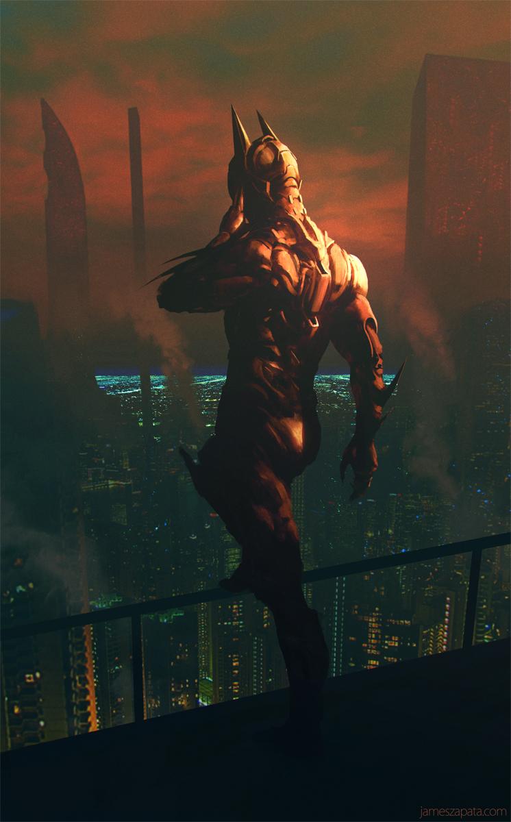 Batman Beyond by jameszapata