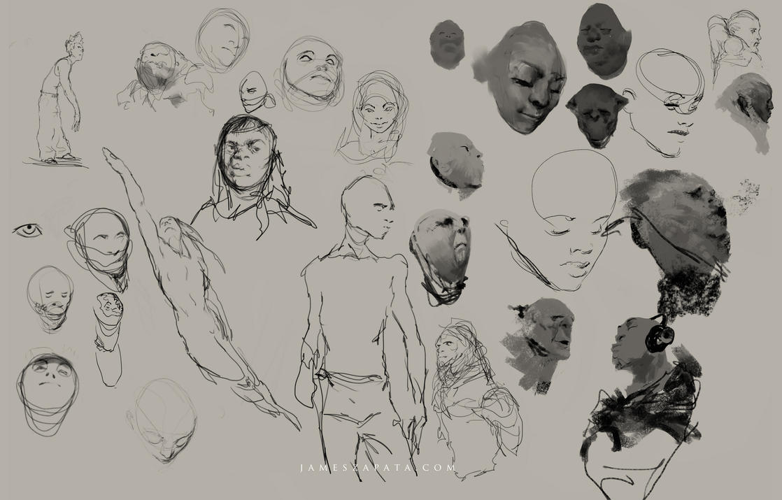 sketches by jameszapata