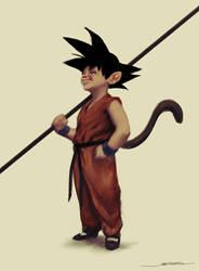 Son Goku by jameszapata