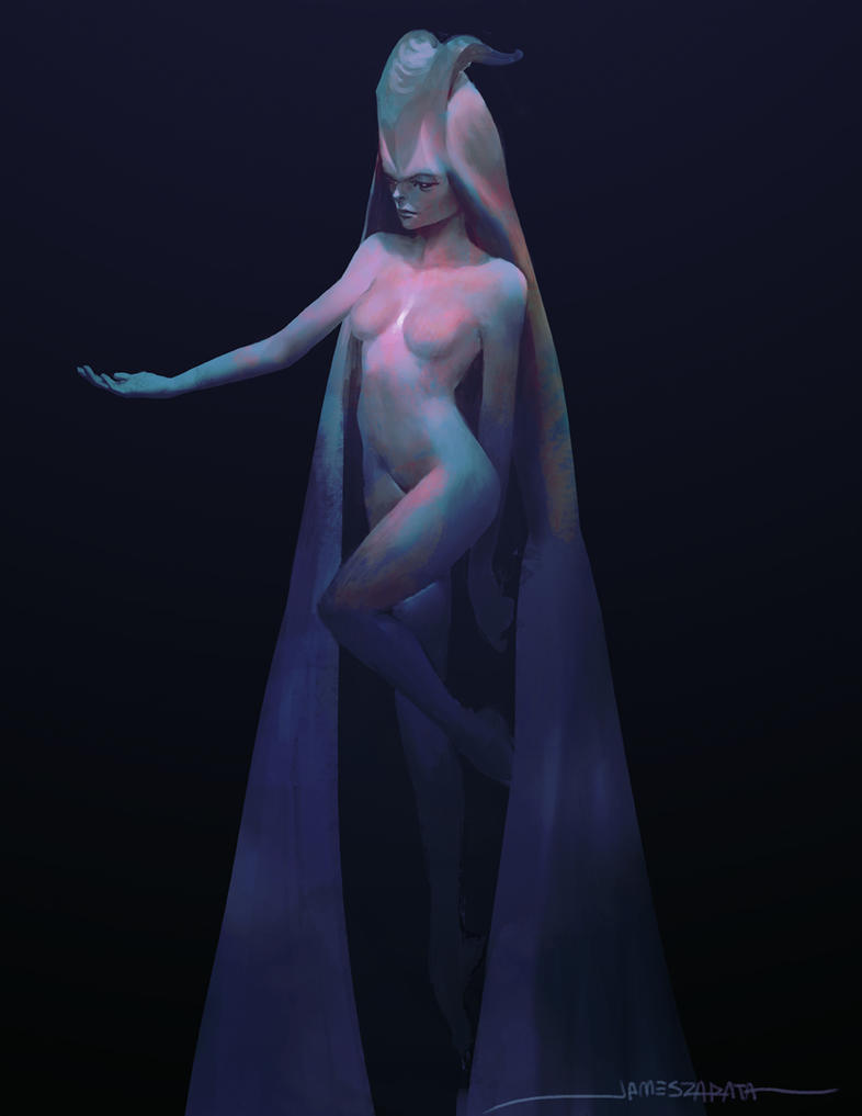 Demon Princess by jameszapata
