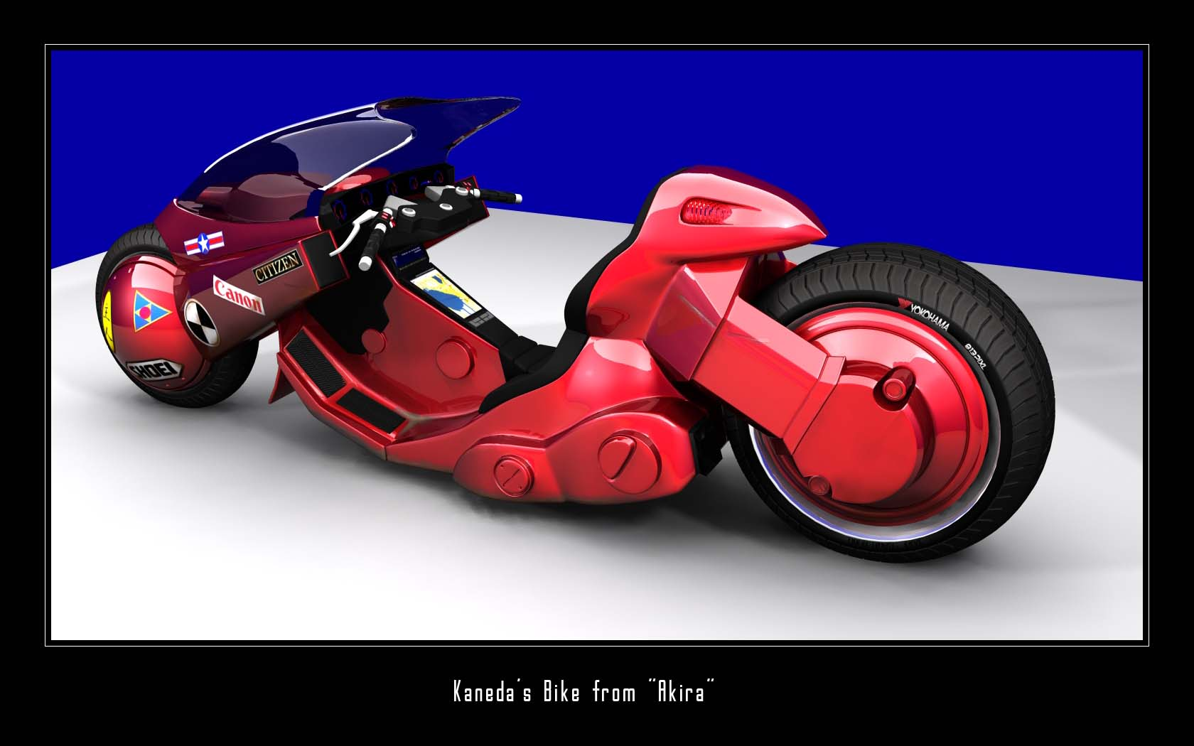 Kaneda's bike from Akira -