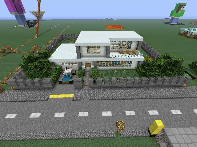 Minecraft small modern house Mine 3 by EMOxDmon on DeviantArt