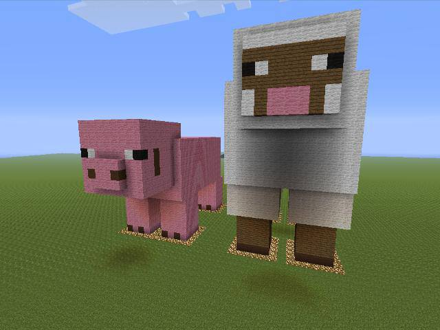 How To Draw A Minecraft Sheep | www.imgkid.com - The Image ...