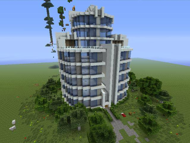 mincraft how to make a hotel