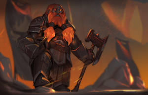 Commission - Dark Iron Dwarf by BLNK100