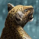 Leopard digital painting by tmolnar0831
