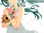 {Hatsune Miku} Flowers Render ~