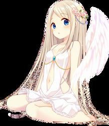 Anime Girl Angel - Render by MikuShooter