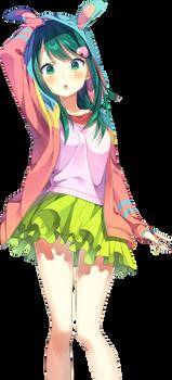 Kawaii Anime Render