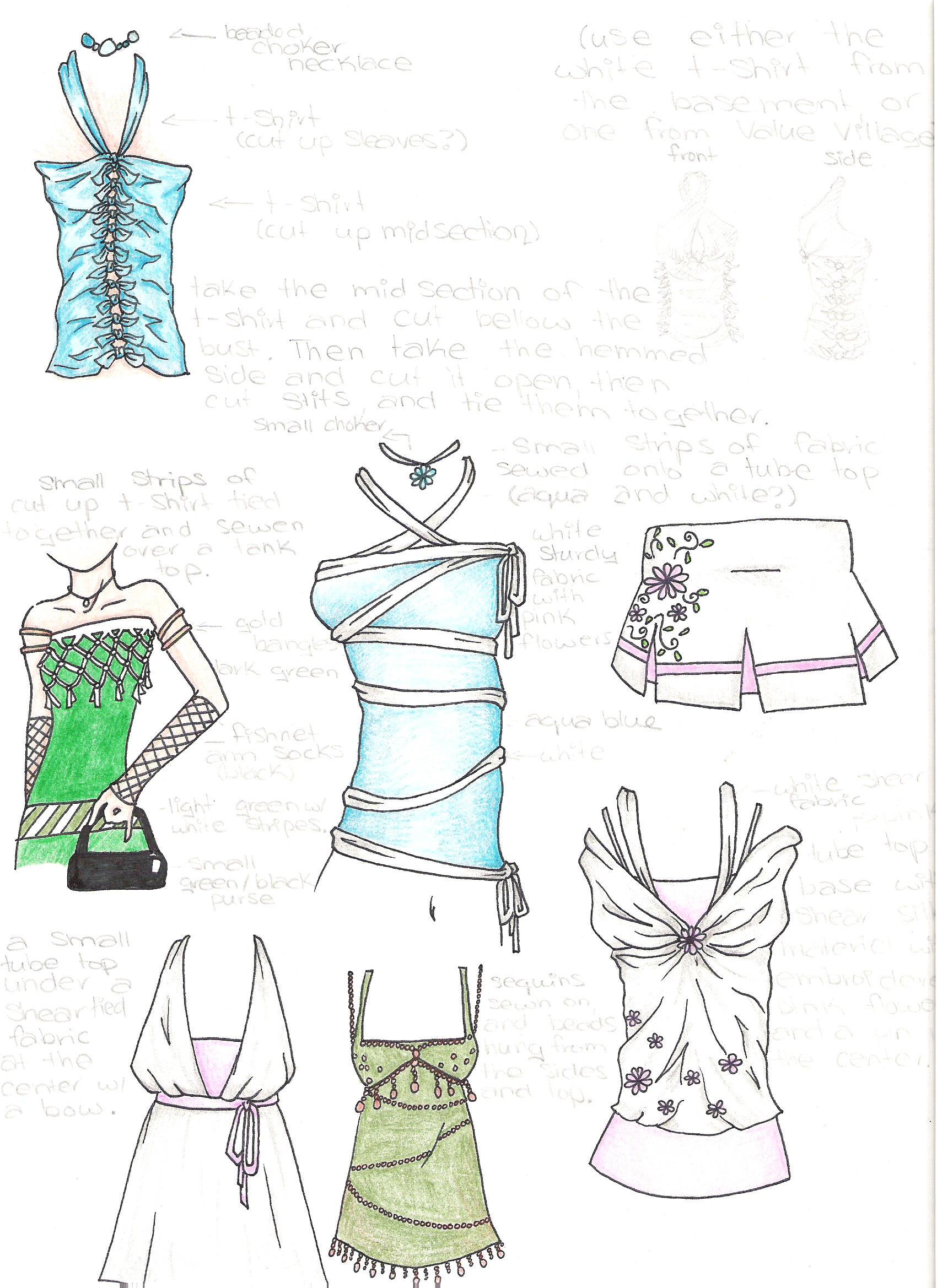 clothing designs by gwyneth15 on deviantart