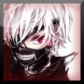 Tokyo Ghoul Kaneki xat icon 2 by DistinctDreams