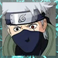 Naruto Shippuden Kakashi xat icon 3 by DistinctDreams