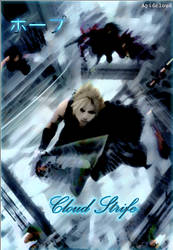 Cloud Strife Paint by Apidcloud