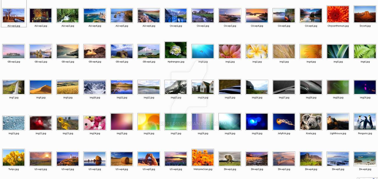 Windows   Wallpaper Pack By Kruper