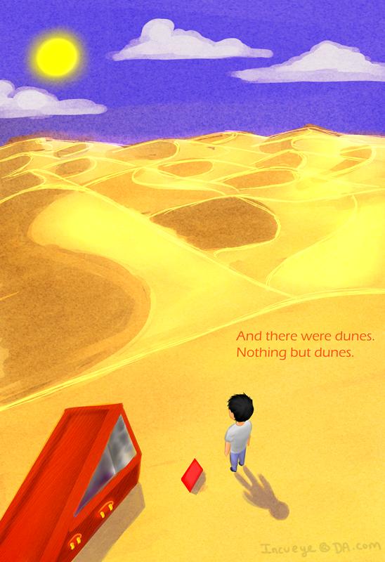 Dunes by Incueye