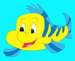 Flounder by wilderedflowers