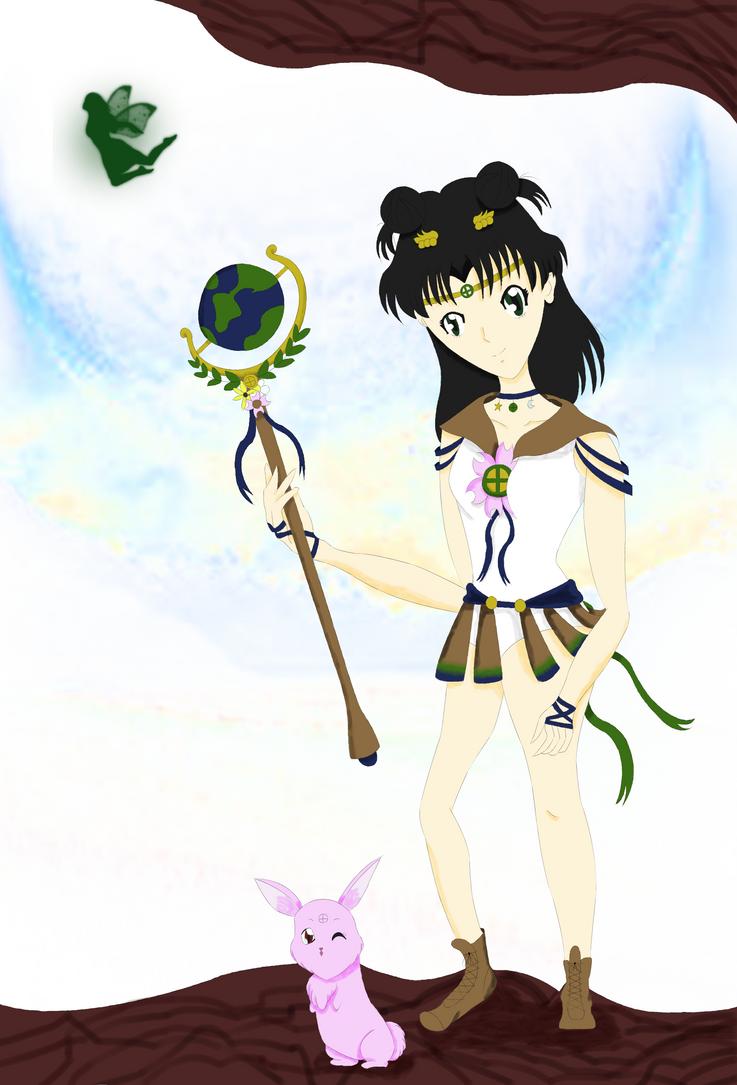 Sailor Earth by DigidestinedAzukia