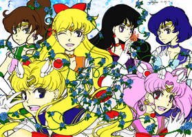 Sailor Moon Coloring For Contest!