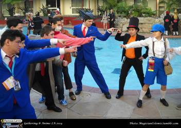 PL vs AA Gathering: Attorneys VS Gentlemen by WannabeMagical