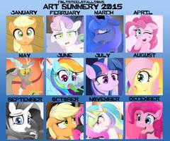 Coltsteelstallion's Art summery 2015 by Coltsteelstallion