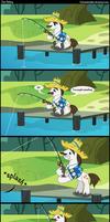 Just fishing.