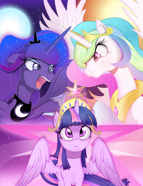 Equestria unite by Coltsteelstallion